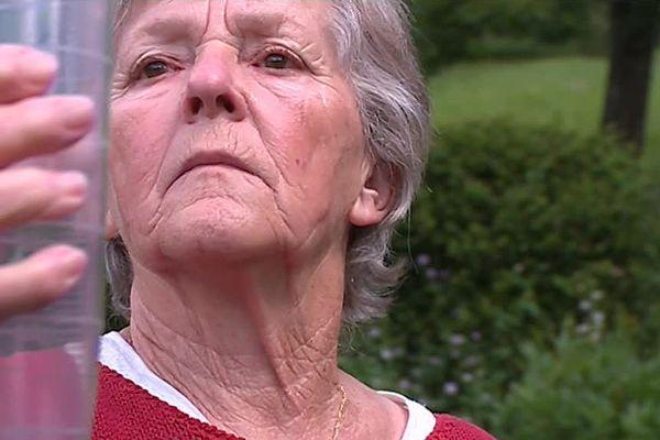 Ginette Pierron est bénévole pour Météo France depuis 47 ans.