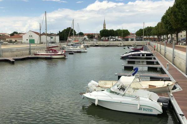 Le nouveau port  de La Tremblade