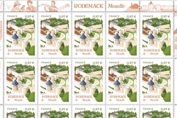 Timbre Rodemack Moselle