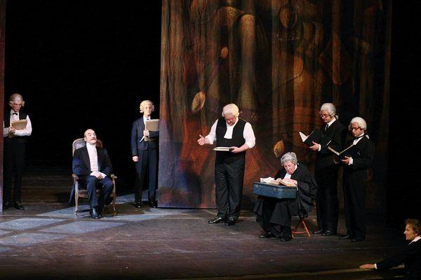 """""""Le Mariage de Figaro"""" mis en scène par Christophe Rauck en 2007."""