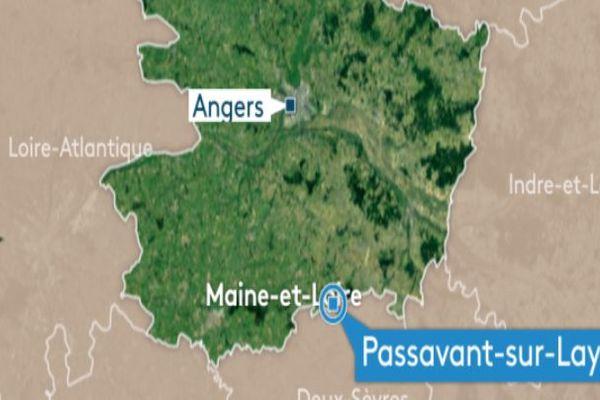L'épicentre du séisme de ce samedi 16 novembre a été enregistré à 2 km de profondeur sous la commune de Passavant-sur-Layon
