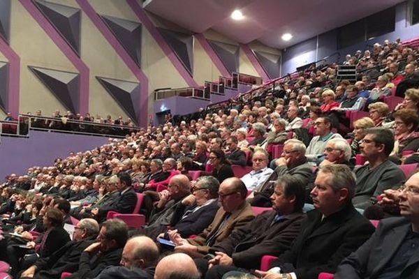 Tous les maires de l'Eure étaient conviés par le préfet afin qu'il leur présente les mesures de sécurité renforcée après les attentats de Paris.