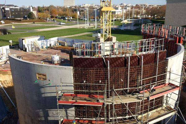 Le Mémorial de Caen investit deux millions d'euros pour construire un nouveau cinéma.