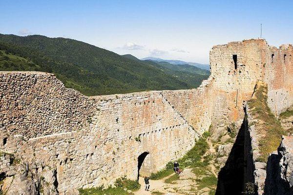 Le château de Montségur.