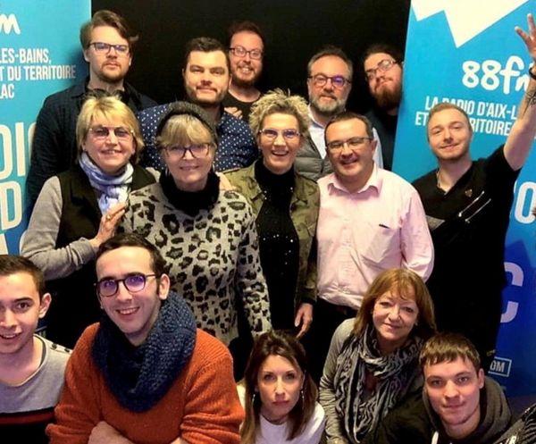 L'équipe de Radio Grand Lac
