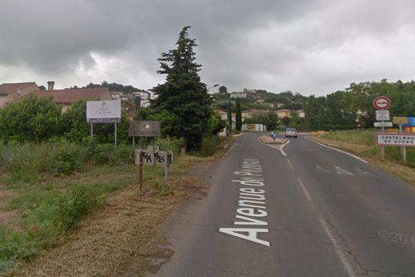 C'est dans le village de Castlenau-de-Guers à l'Est de Béziers que le légionnaire avait menacé compagne et un couple d'amis.