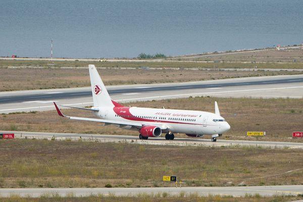 Grève surprise à Air Algérie. Un avion sur les pistes de Marseille Marignane.