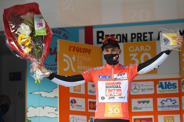 Tim Wellens (ici le 5 février) remporte la 51e édition de l'Étoile de Bessèges.