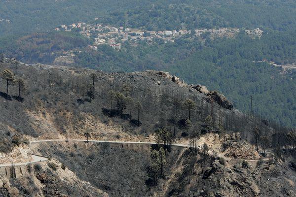Parti de Fozzano, l'un des deux incendies a lourdement touché plusieurs communes, dont celle d'Aullène.