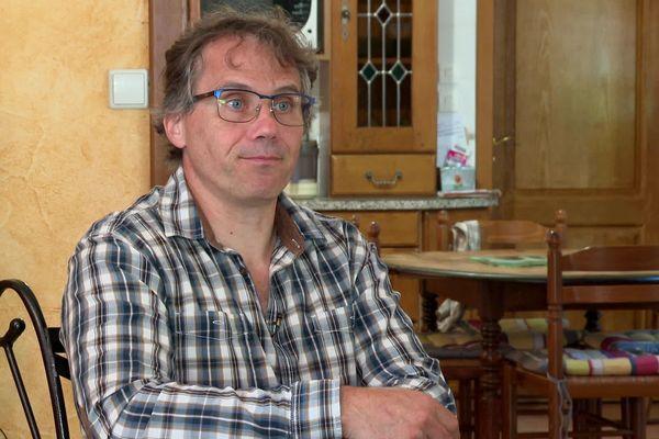 Jean-Luc Cardoso, militant syndical CGT et technicien d'exploitation depuis 31 ans à la centrale.