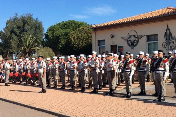 50 ans du 2e REP célébrés à Calvi