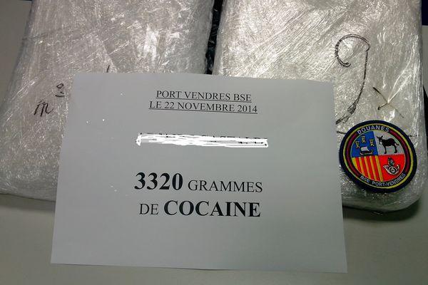 Plus de trois kgs de cocaïne ont été saisis par les douanes à Banyuls-sur- Mer.