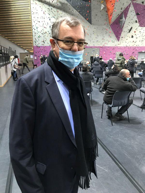Paul-Marie Bartoli maire de Propriano lors du scrutin