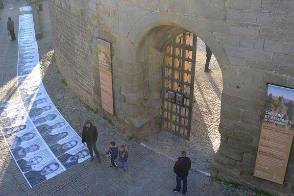 Collages photographiques à Carcassonne