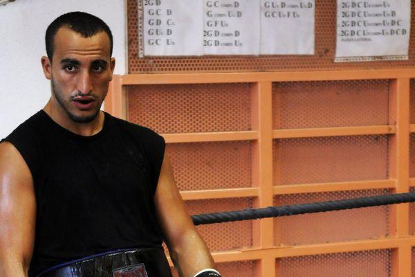 Au boxing center des Pennes Mirabeau le 02/09/09