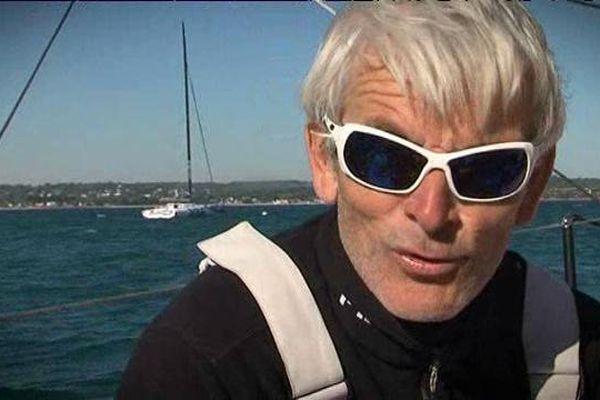 Le skipper Vincent Riou