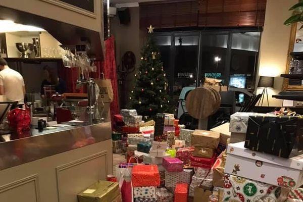En décembre 2019 plus de 300 colis de Noël ont été distribués aux sans-abris de Nancy