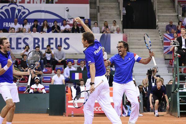 Yannick Noah et la Coupe Davis