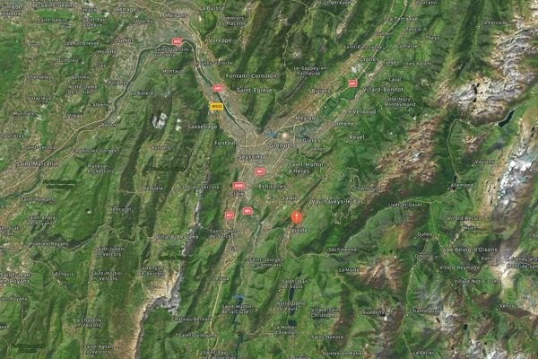 L'épicentre du séisme a été localisé à Vizille, en Isère.