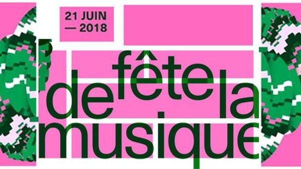 Fête de la Musique 2018, affiche du Ministère de la Culture