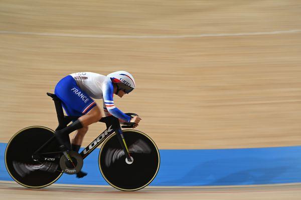 Mathilde Gros a été très solide lors des deux premiers tours de la vitesse individuelle aux Jeux Olympiques de Tokyo