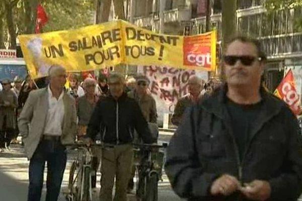 2 000 manifestants ont défilé dans les rues de Tours.