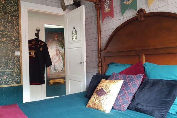 Dormez dans le lit aux couleurs d'Harry Potter