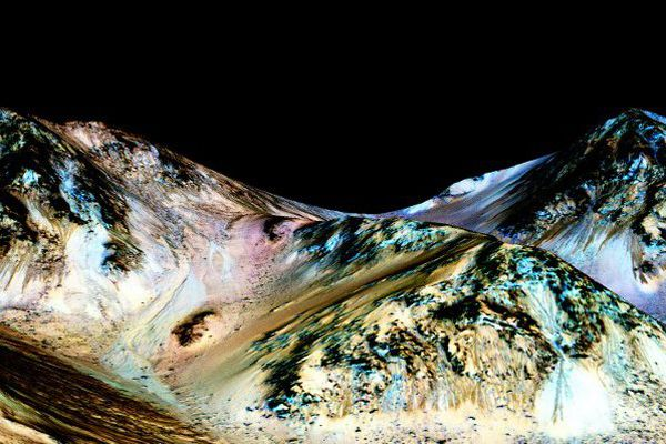 De l'eau sur Mars, une découverte nanto-américaine