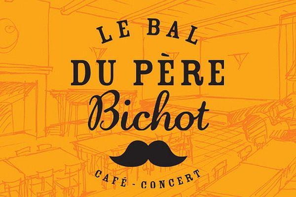 """Le logo du """"Bal du père Bichot""""."""