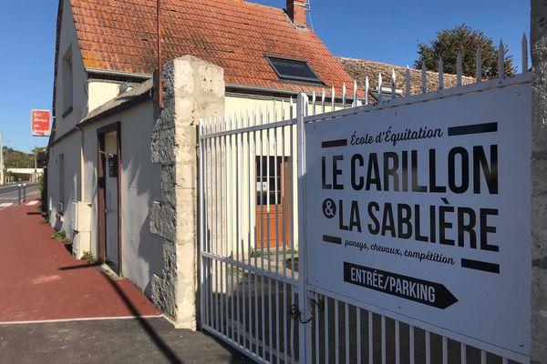 Le centre équestre Le Carillon et la Sablière est situé à Luisant, près de Chartres / © F3 / J. Postollec