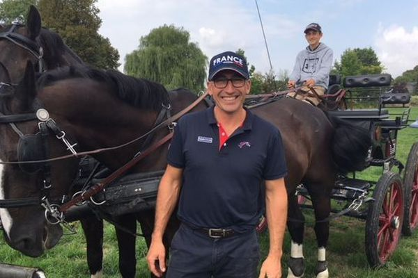 Le Picard fait partie des trois meneurs d'attelage français sélectionnés pour les jeux équestres mondiaux