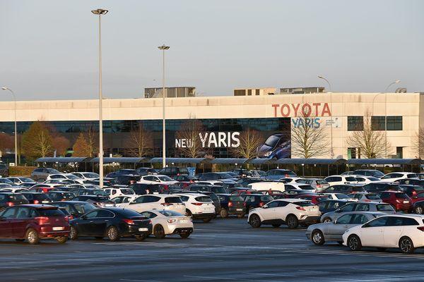 L'usine Toyota à Onnaing