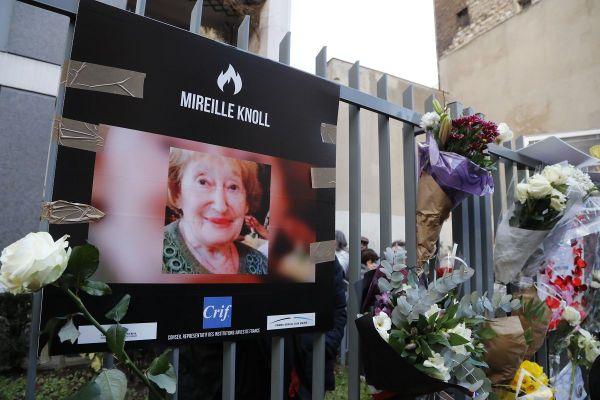 Mireille Knoll assassinée à son domicile parisien en mars 2018