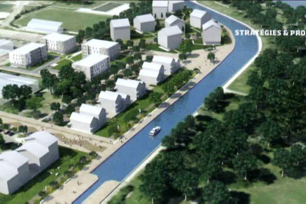 Les plans du futur écoquartier de la Fontaine-d'Ouche