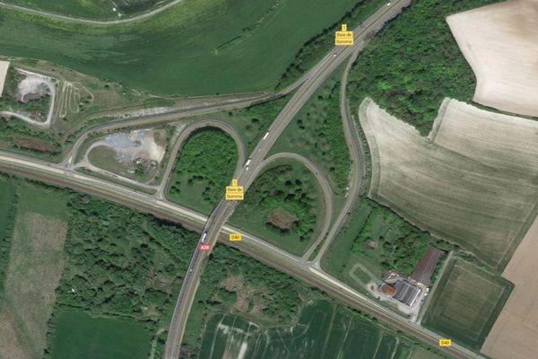 """La sortie de l'échangeur 1 """"Baie de Somme"""" sera fermée à la circulation dans le sens Rouen / Abbeville"""