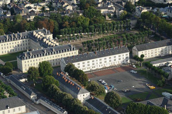 Le prestigieux Cadre Noir de Saumur est situé dans le Maine-et-Loire.