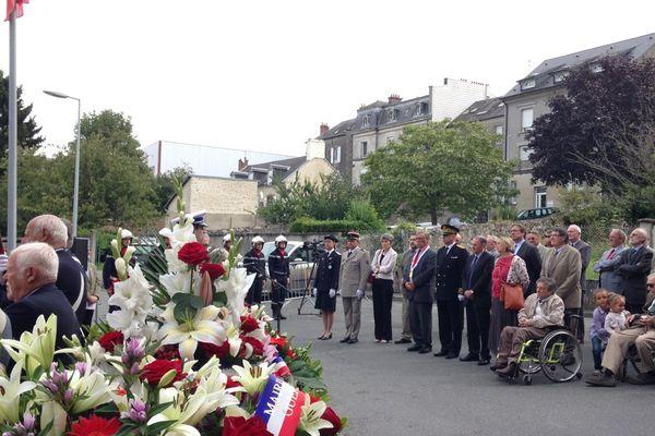 La cérémonie a eu lieu en fin de matinée ce lundi à Guéret