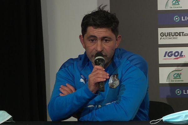 Oswald Tanchot était arrivé à l'Amiens SC en juin 2020, comme adjoint de Luka Elsner