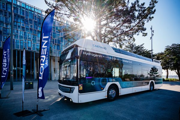 L'agglomération de Lorient va lancer une flotte de 12 bus à hydrogène à l'horizon 2025. Une première en Bretagne