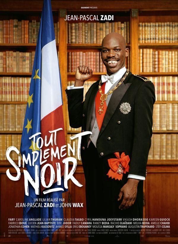L'affiche du film Tout simplement noir de Jean-Pascal Zadi