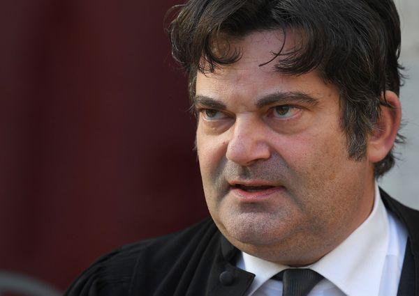 Randall Schwerdorffer, l'avocat de Jonathann Daval, jugé pour meurtre sur son épouse.
