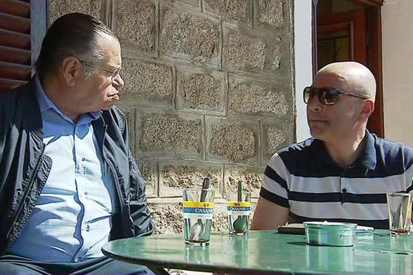 Pascal Miniconi, maire d'Afa et Jean-Jacques Ferrara, candidat LR-UDI aux Législatives dans la 1ère circonscription de Corse-du-Sud