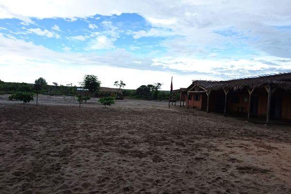 Ecole construire grâce à l'association ADTIA à Madagascar