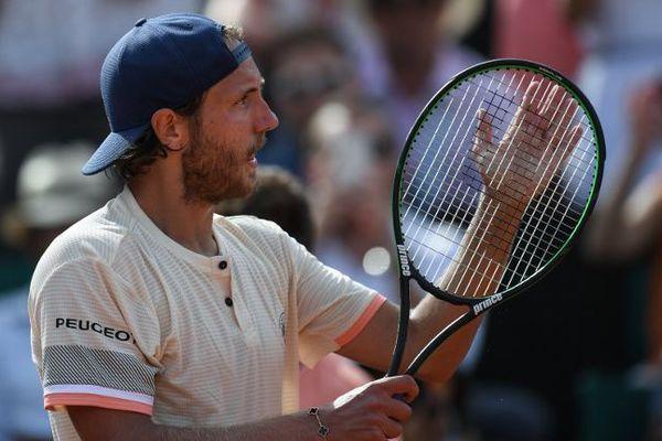 Lucas Pouille a remporté son premier match en 3 sets.