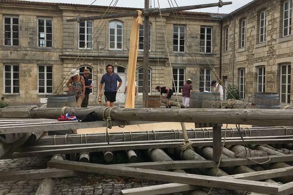 """""""Les Naufragés de la Méduse"""" de L. Leclerc vendredi, samedi et dimanche au Musée de la Marine de Rochefort"""