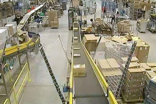 L'usine Amazon de Sevrey (71), près de Chalon