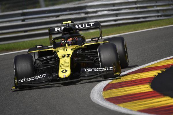 Esteban Ocon, le pilote de l'Eure, termine à la 5ème place du Grand Prix de Belgique