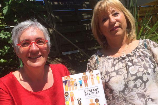 """Claudine Paque et Catherine Sellenet co-auteures de """"L'enfant de l'autre"""""""