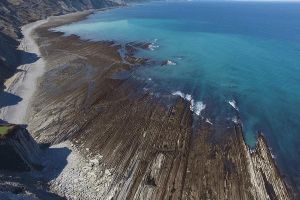 géopark de la côte basque espagnole