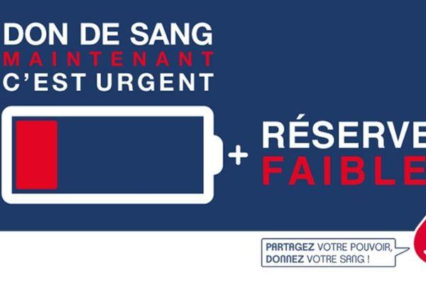 L'Etablissement français du sang lance un appel au don en ce mois de juin 2020.